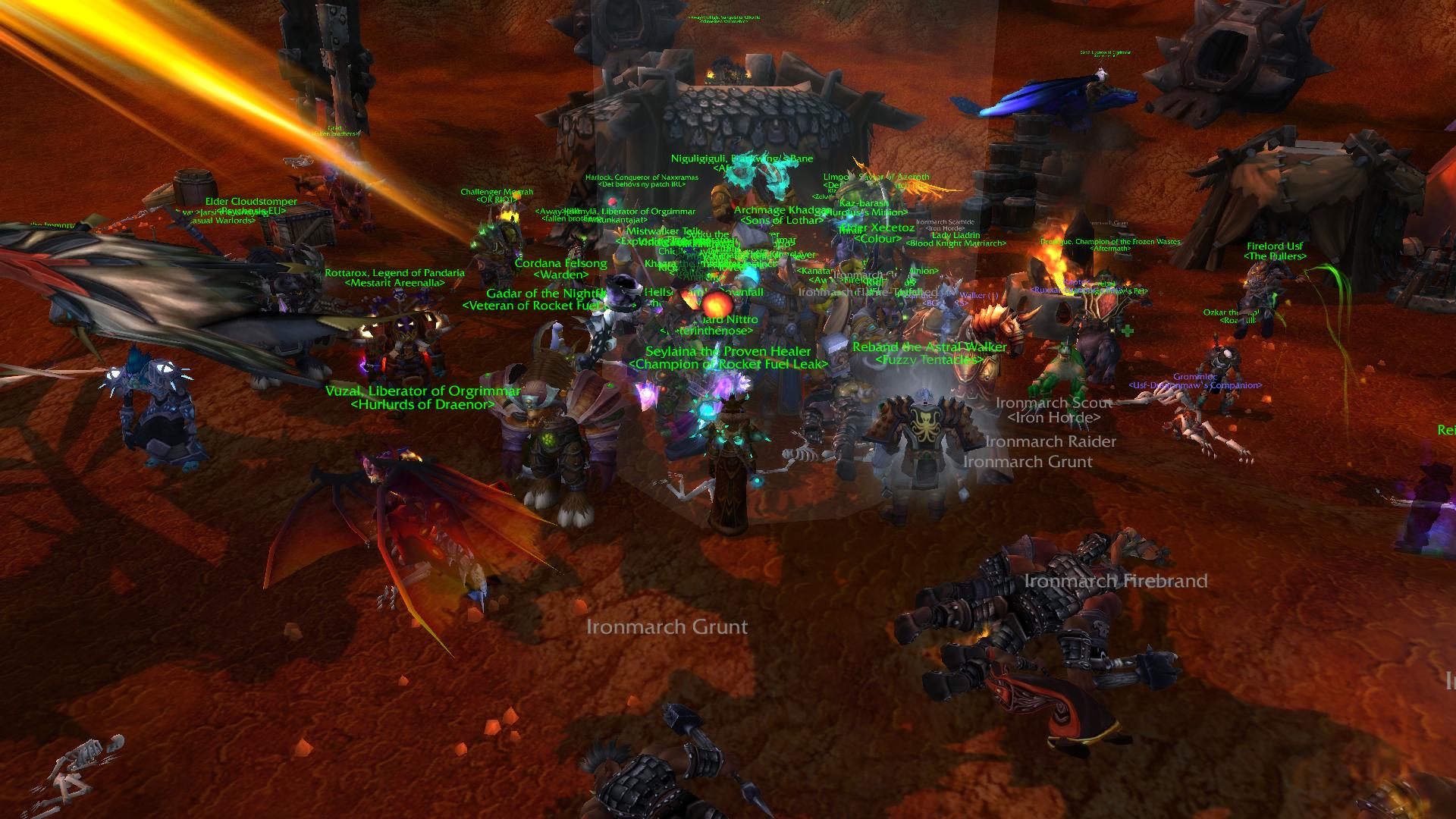NPC crowded